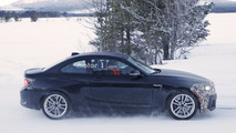 2018 BMW M2 facelift spy shot