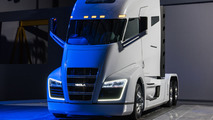 Nikola One and Nikola Two hydrogen-powered semi-trucks