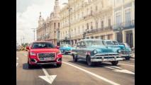 Foi pra Cuba! Audi Q2 faz estreia internacional em Havana - veja fotos