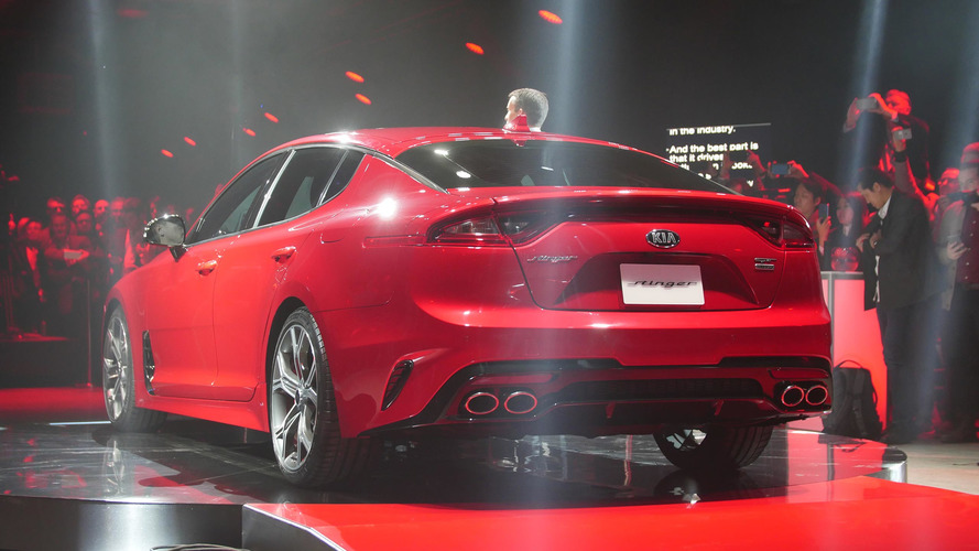 2018 Kia Stinger GT photo live à Détroit 2017