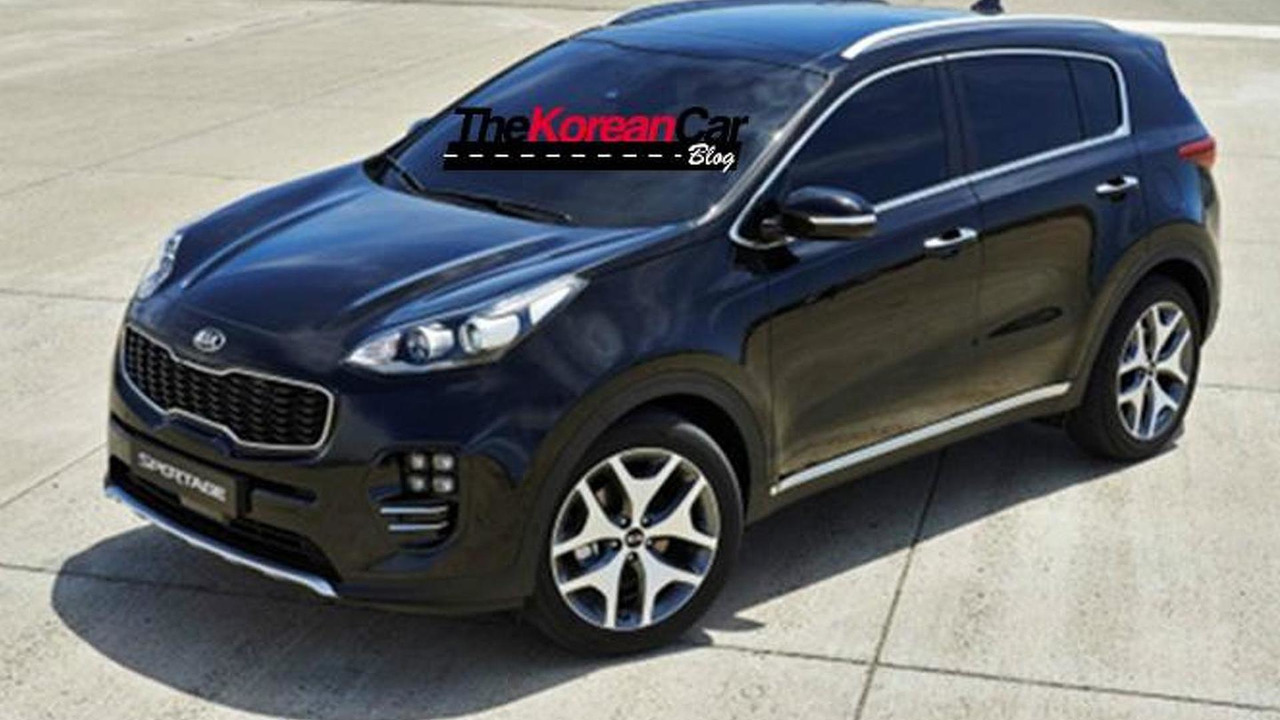 2016 Kia Sportage leaked official image