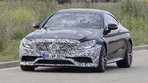 Mercedes-AMG C63 Coupe Makyajı Casus Fotoğraflar