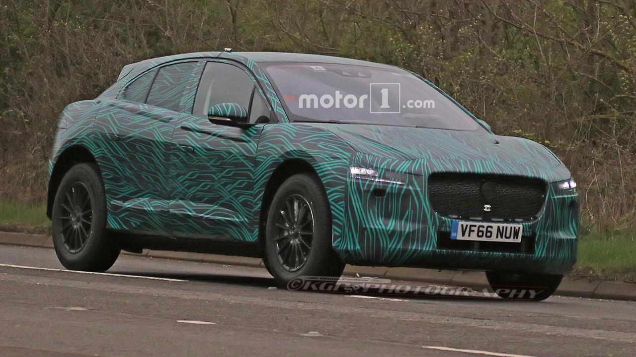 Jaguar I-Pace Spy Photos