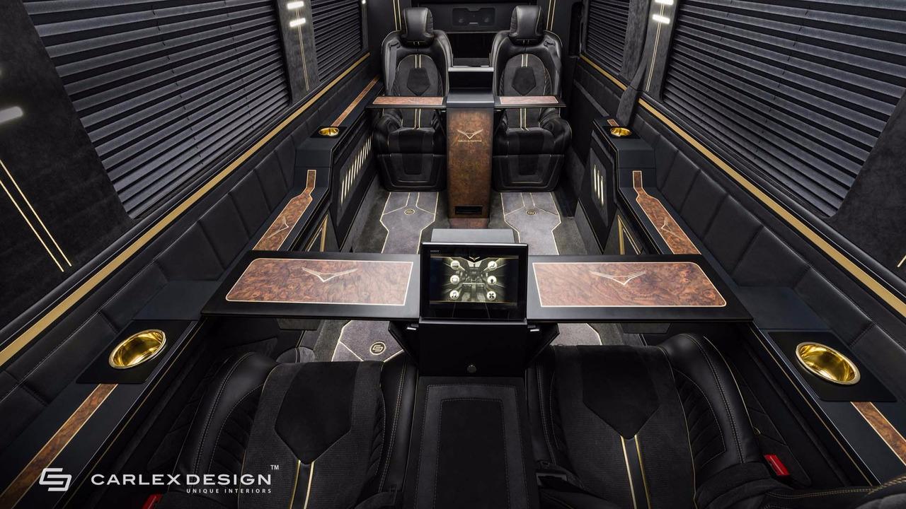 Carlex design mercedes sprinter jet van photos for Mercedes benz sprinter jetvan