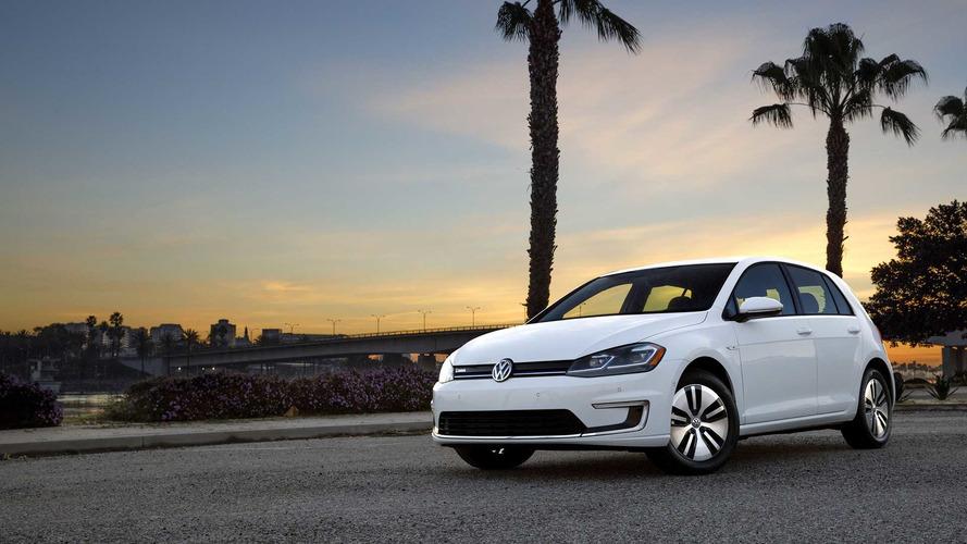 Volkswagen, E-Golf'ün neredeyse tamamen tükendiğini duyurdu