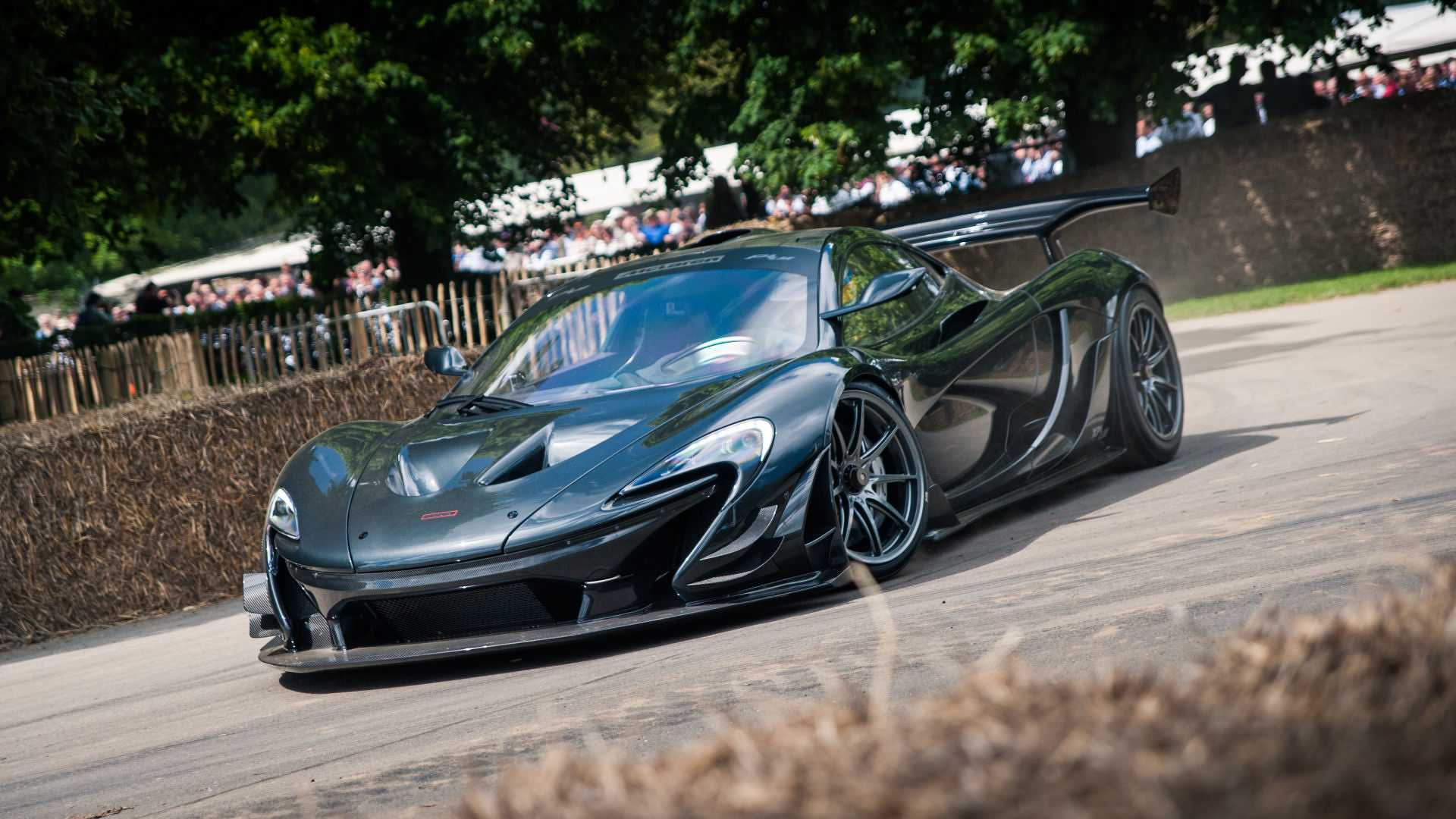 See McLaren P1 LM Set Goodwood Record From Driver's View