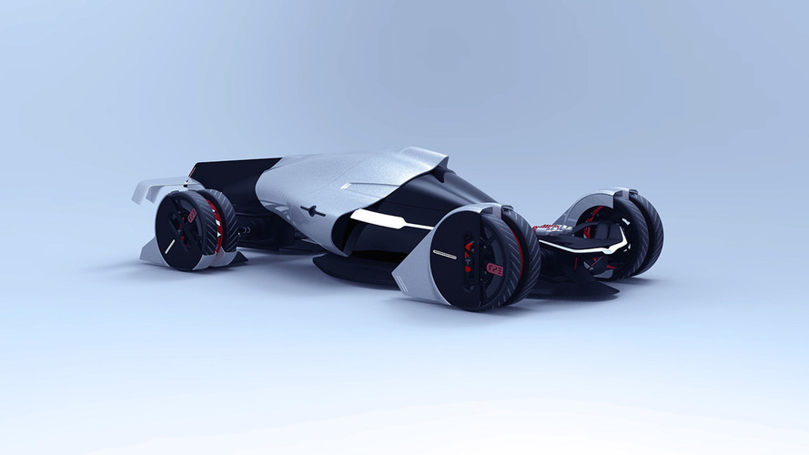 Tesla T1 Concept Imagines An Electric Le Mans Racer