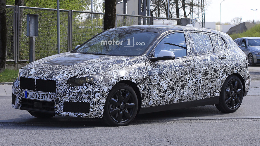 2019 BMW 1 Series FWD Spied For The First Time