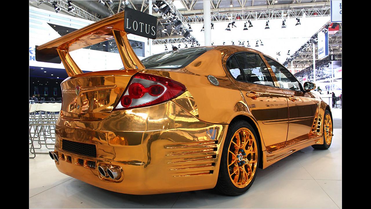 Lotus in Gold