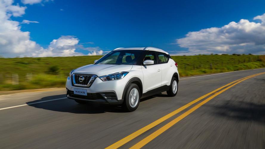 SUVs / crossovers compactos – Kicks cresce, Duster despenca