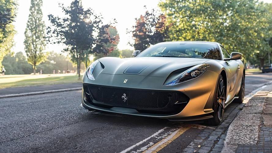 Gordon Ramsay's new Ferrari came as a surprise