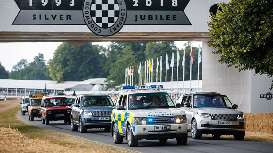 Parade Land Rover Goodwood 2018