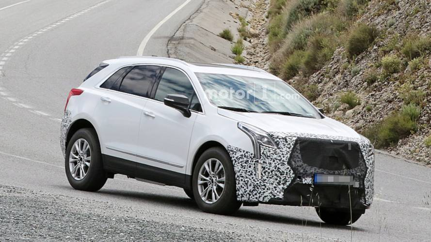 2020 Cadillac XT5 Spied With Little Camo In Europe