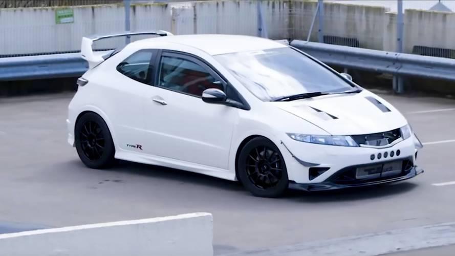 Custom honda civic type r has more power than an aventador sv for Honda type r horsepower