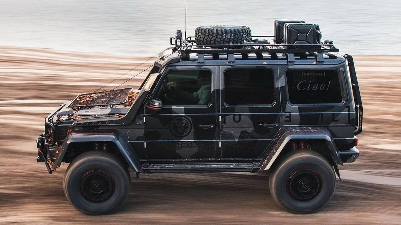 Jon Olsson S Mercedes Benz G500 Photo