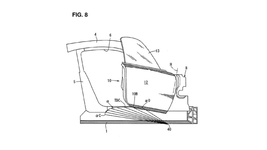 Mazda Patents Cool Upward Sweeping Door, Possibly For Sports Car