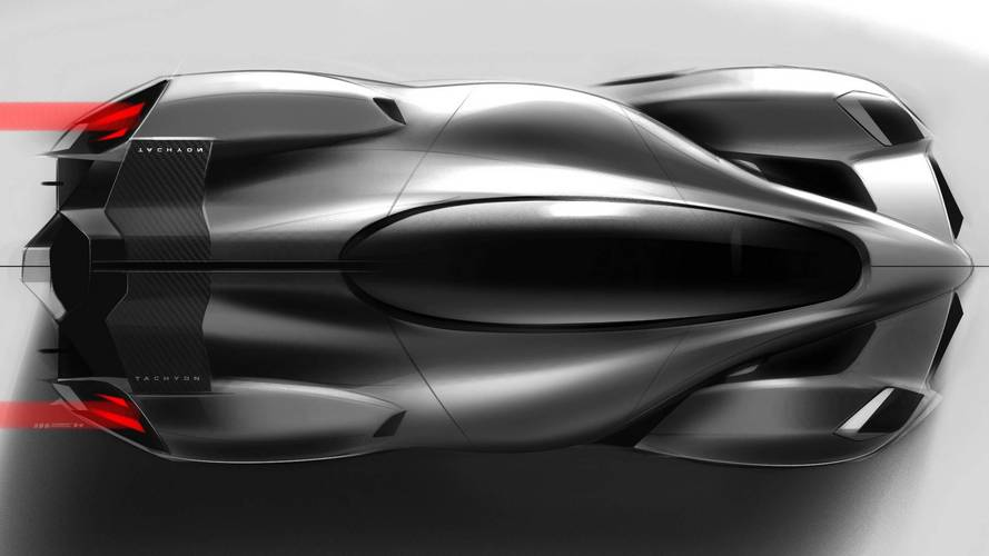 1,250-HP Tachyon Speed: Electric Hypercar With Jet Fighter Design