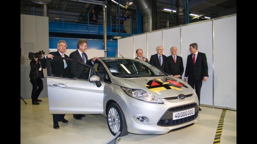 Ford Europa: raggiunta quota 40 milioni