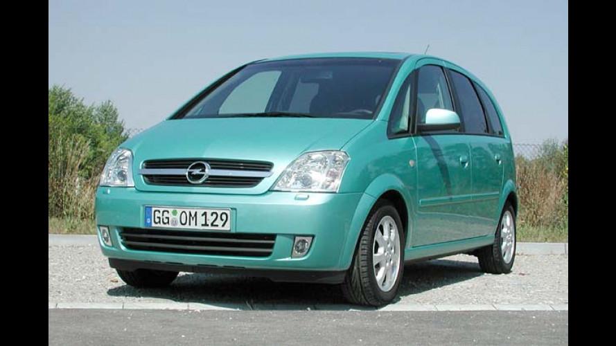 Opel Meriva: Praktischer Minivan bekommt serienmäßig ESP