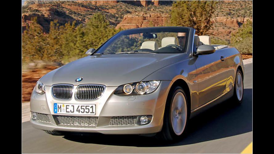 Schöne Offenheit für heiße Tage: Das neue BMW 3er Cabrio