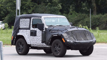 2018 Jeep Wrangler Two-Door Spy Photo