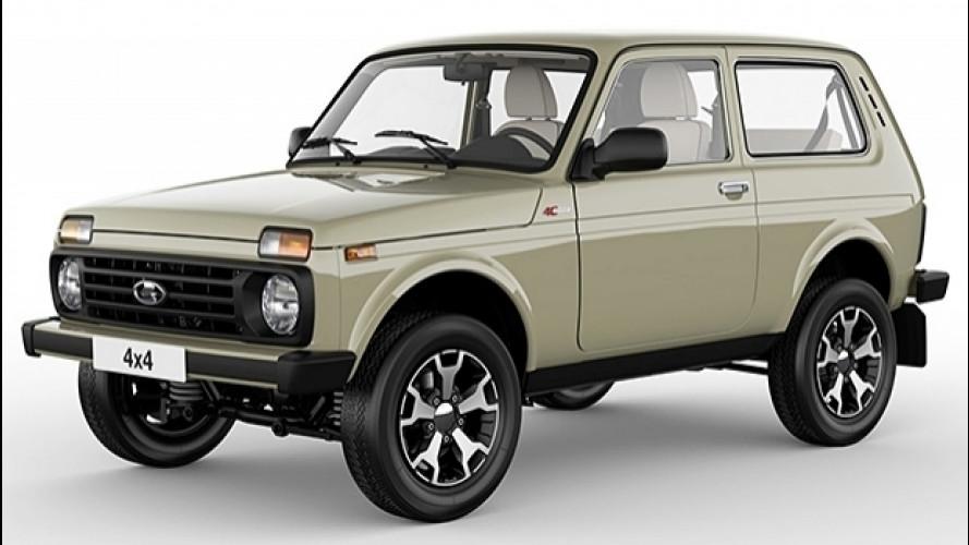 Lada 4x4 40th Anniversary Edition, auguri mitica Niva
