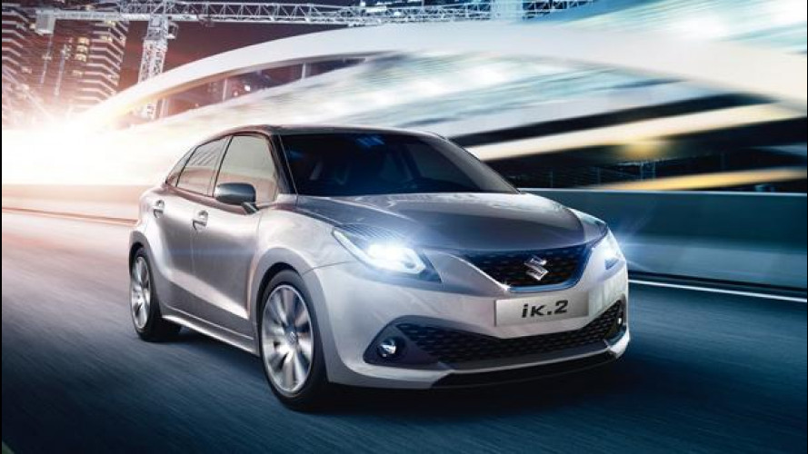Suzuki iK-2 concept, berlina compatta per il 2016