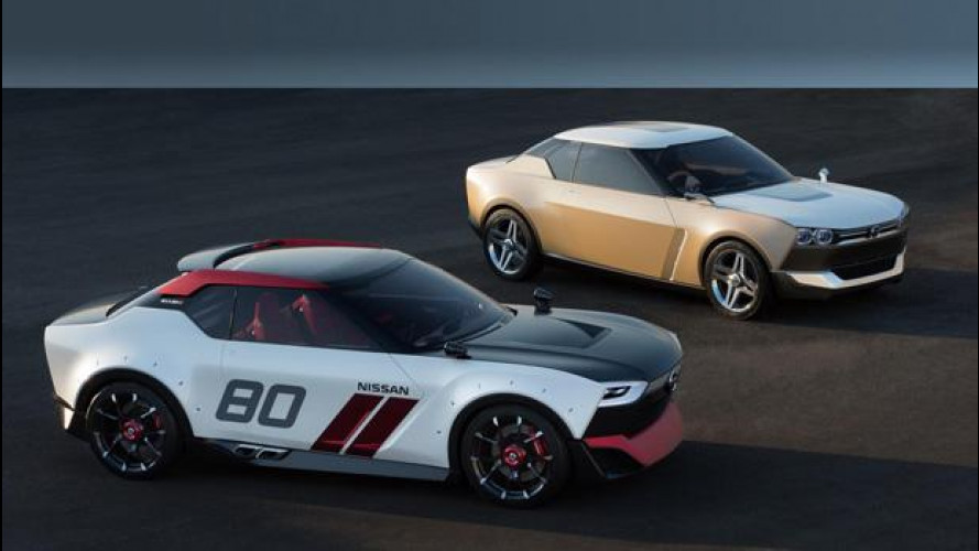 Nissan IDx Freeflow e IDx Nismo concept: la coupé dei nativi digitali