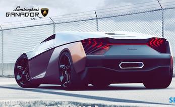 Lamborghini Ganador Concept Introduces More Elegance into the Lineup