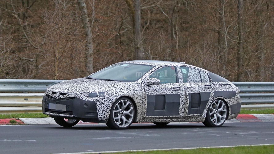 2017 Opel Insignia spied inside & out on the Nürburgring
