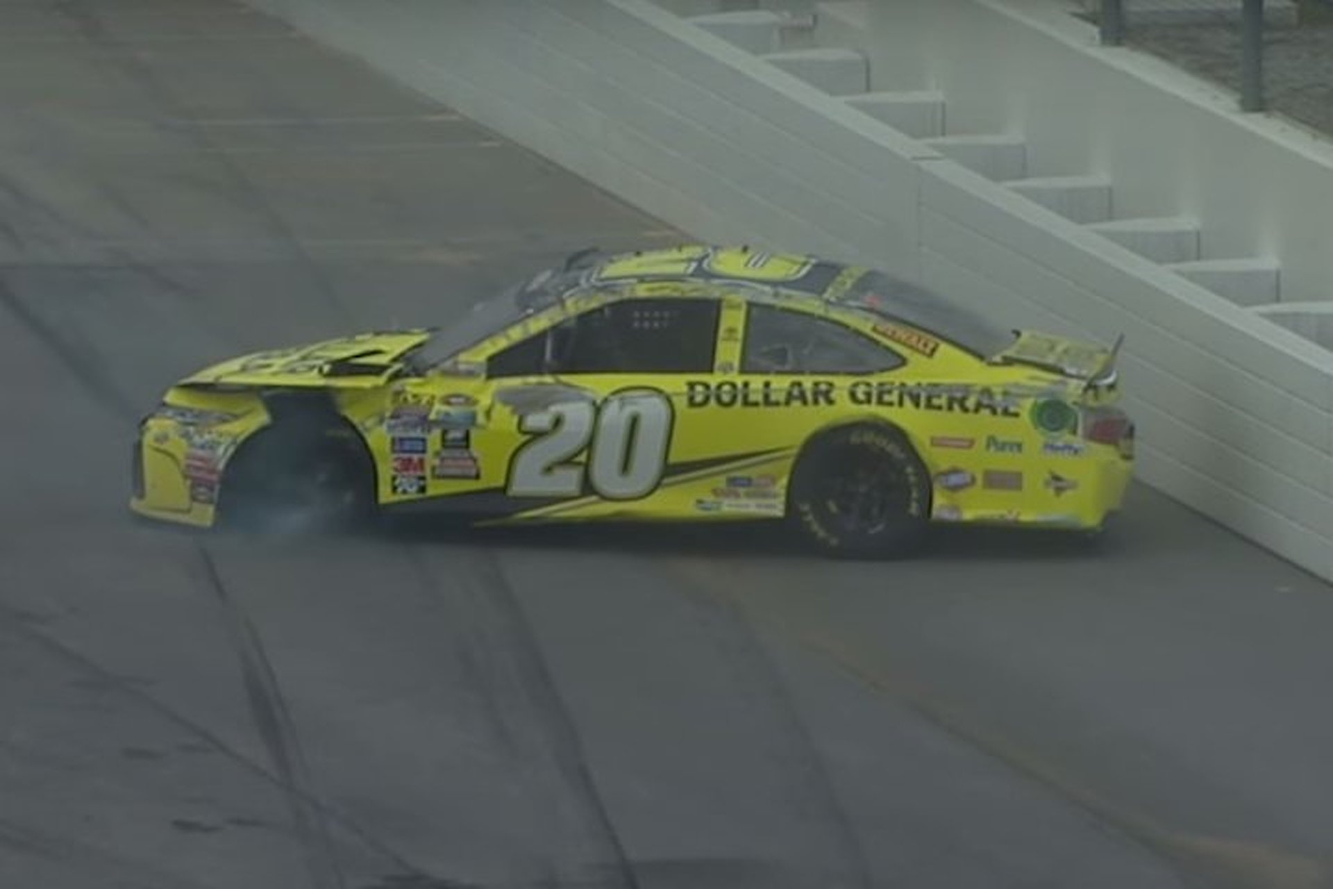 NASCAR Talladega Race Ends In Two Spectacular Wrecks, Per Usual