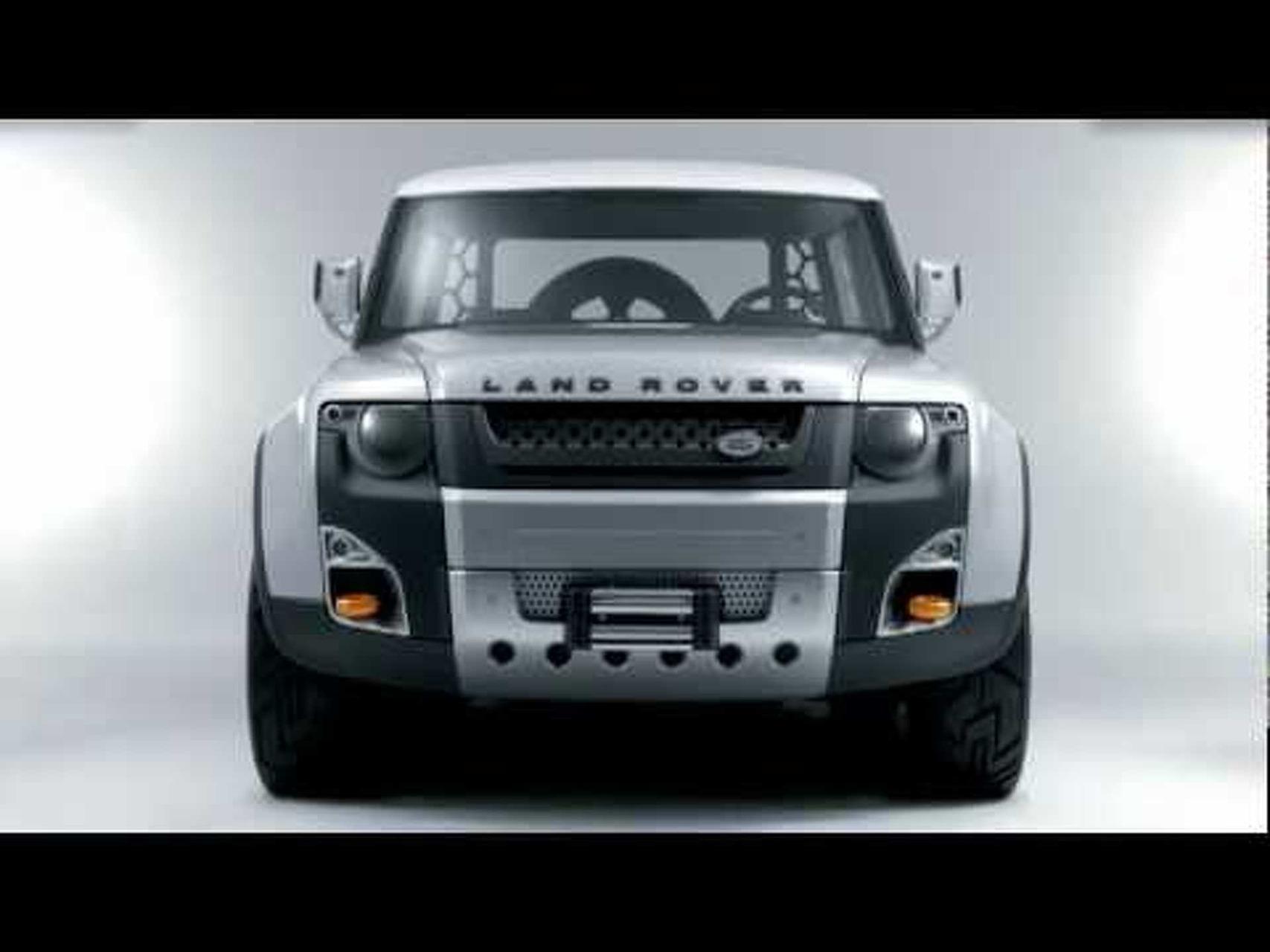 2011 Land Rover DC100 Concept