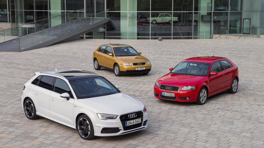 Audi celebrates the 20th anniversary of the A3