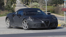 2014 Alfa Romeo 4C spy photo 30.1.2013