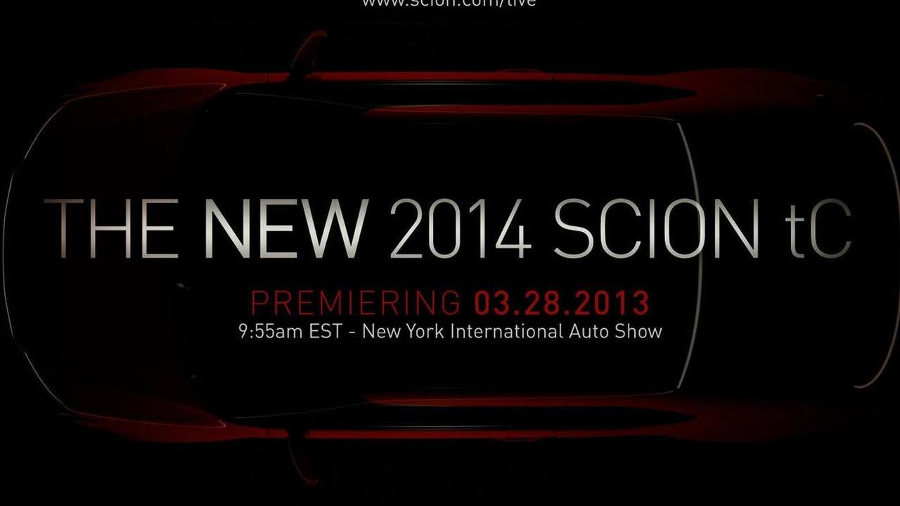 2014 Scion tC teaser image 21.3.2013