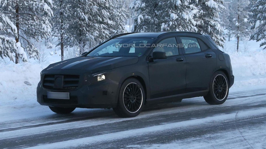 Mercedes-Benz GLA 45 AMG spied for the first time