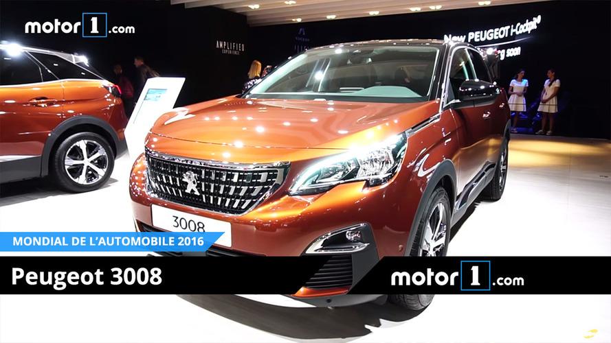 VIDÉO - Découvrez la Peugeot 3008 au Mondial de Paris !