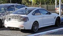 BMW M4 facelift spy photo