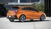 2017 Chevrolet Cruze Hatchback'in fiyatı 22.190 USD'den başlıyor