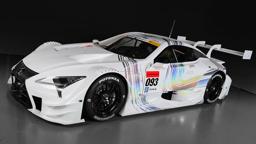 Sharp-edged 2017 Lexus LC 500 ready to race in Japan