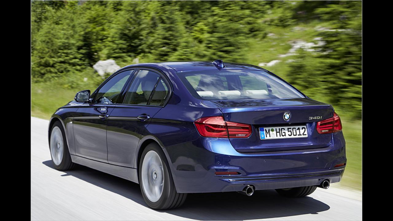 Platz 7: BMW 3er