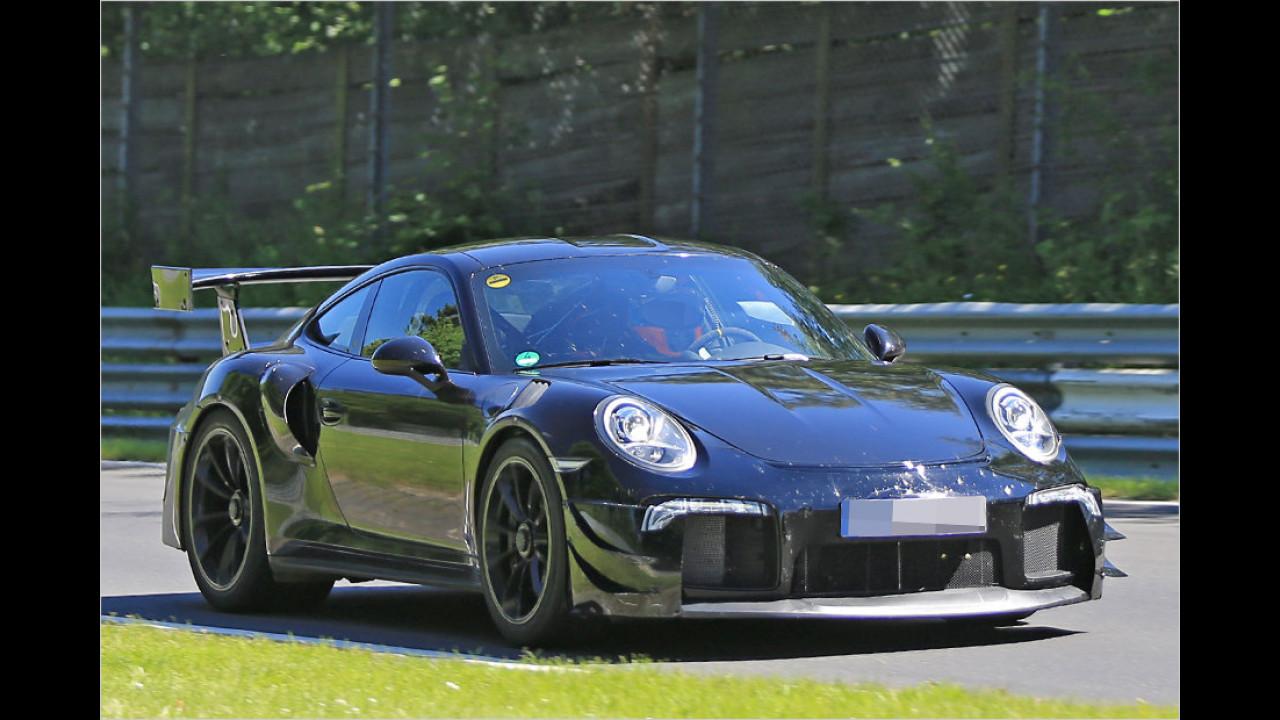 Porsche testet neuen Über-911