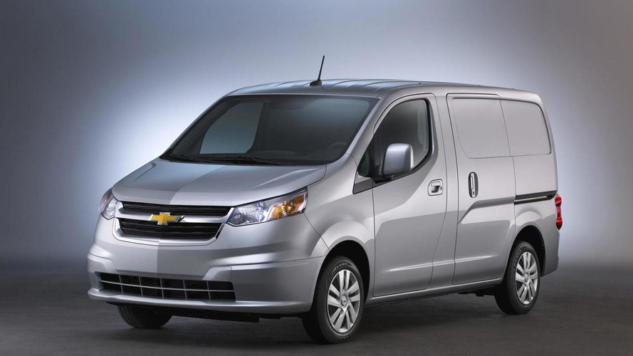 Chevy City Express Work Van Discontinued