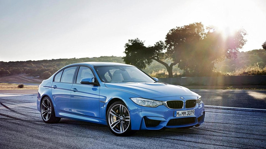 2015 BMW M3 Sedan has no less than 67 M visible badges