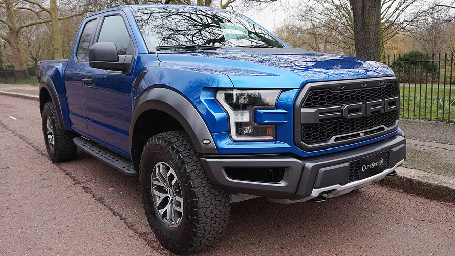 Ford F-150 Raptor on sale in UK for £78,000