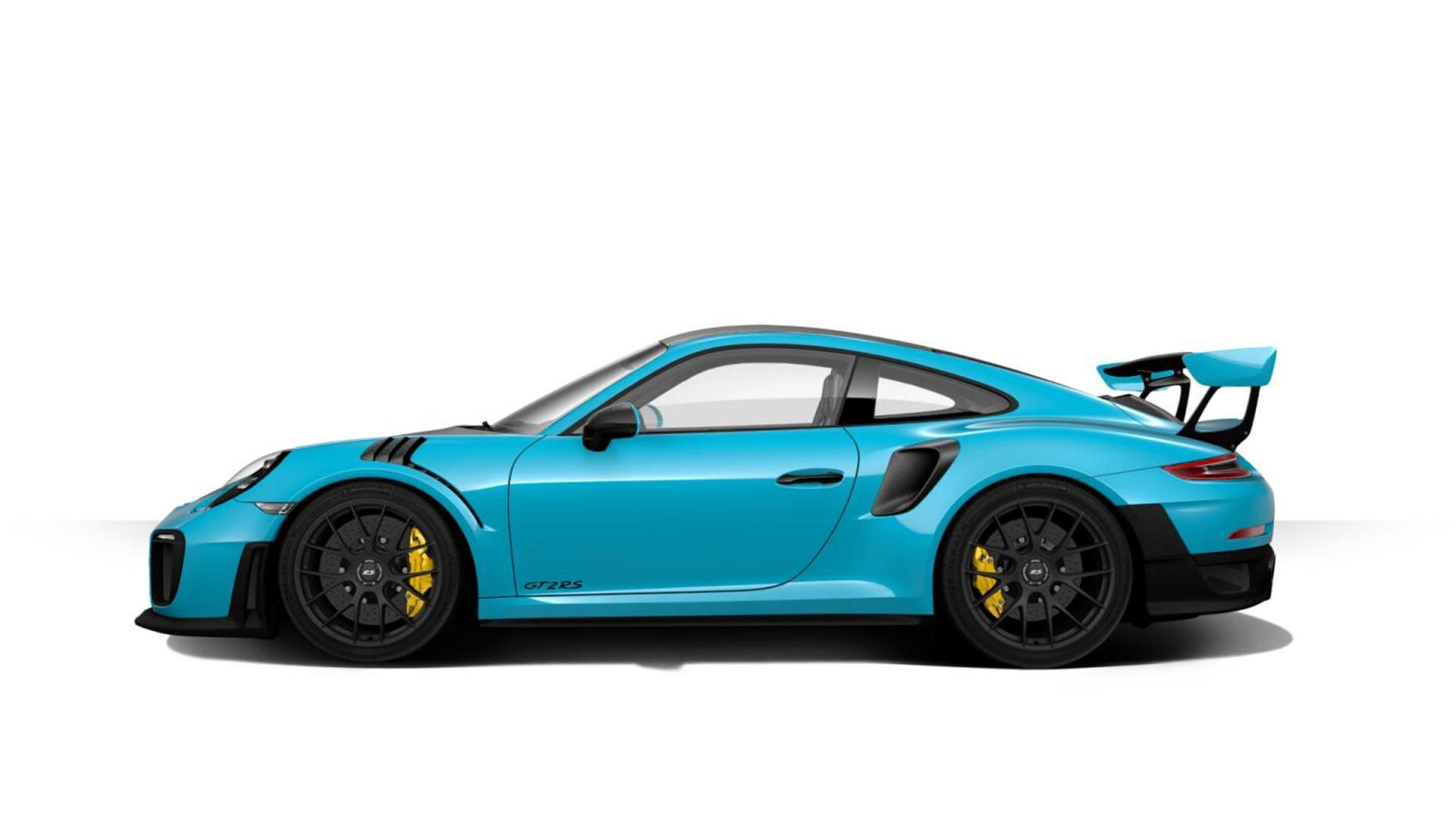 2018 porsche 911 gt2 rs delivers 700 hp motor trend autos post. Black Bedroom Furniture Sets. Home Design Ideas