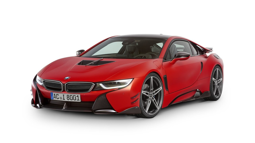 BMW i8 by AC Schnitzer is red-y for Geneva