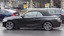 Makyajlı BMW 2 Serisi Convertible casus fotoğrafları