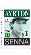 El correo canadiense homenajean a cinco leyendas de la F1
