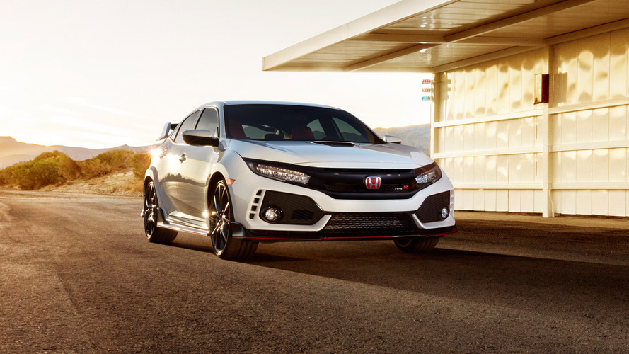 Honda Civic Type R sets front-drive Nurburgring record